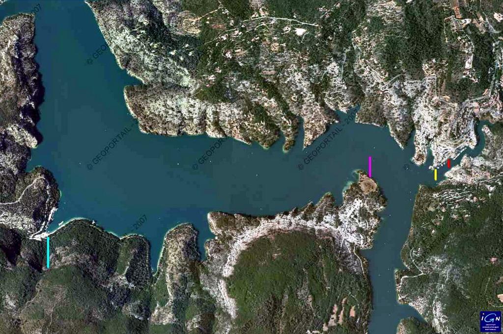 Le lac de Sainte-Croix (04) 26450